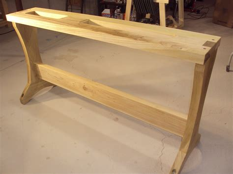 lathe bench plans lathe stand by jarrhead lumberjocks com woodworking