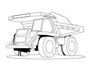 free truck coloring page free tr truck coloring pages