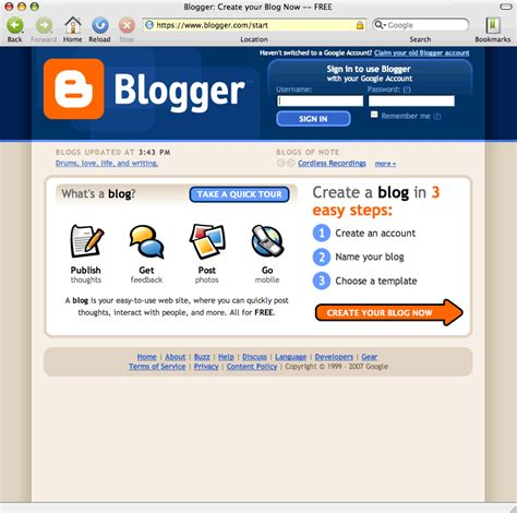 blogger vs blogspot tang zhen yang the internet and world wide web