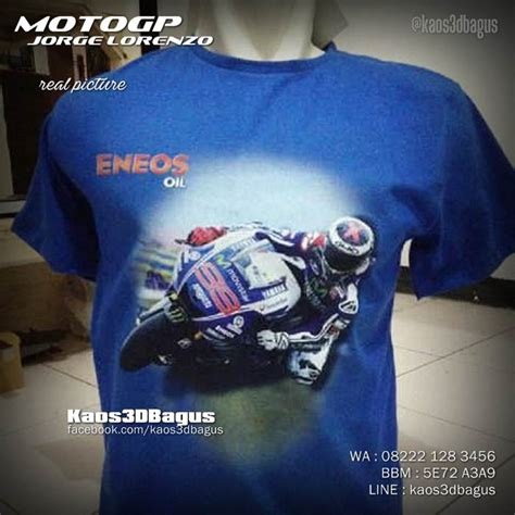 Kaos Moto Gp Lorenzox Fuera kaos motogp kaos3d valentino jorge lorenzo