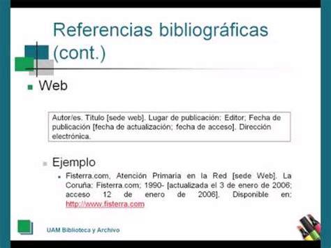 como hacer una bibliografia imagui c 243 mo citar la bibliograf 237 a el estilo vancouver 2010 youtube
