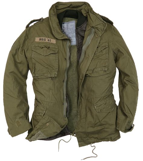 Jaket Army m65 infantry jacket by and green