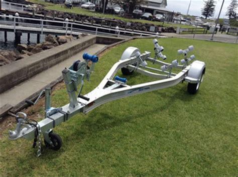 aluminum boat trailers nz seatrail aluminium boat trailer to suit jetskis
