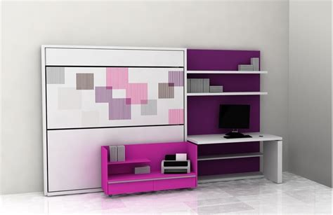 Cool Teen Room Furniture For Small Bedroom By Clei Digsdigs Small Bedroom Furniture Ideas