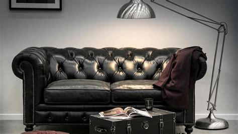 canapé chesterfield cuir gris canap 233 chesterfield ventes priv 233 es westwing