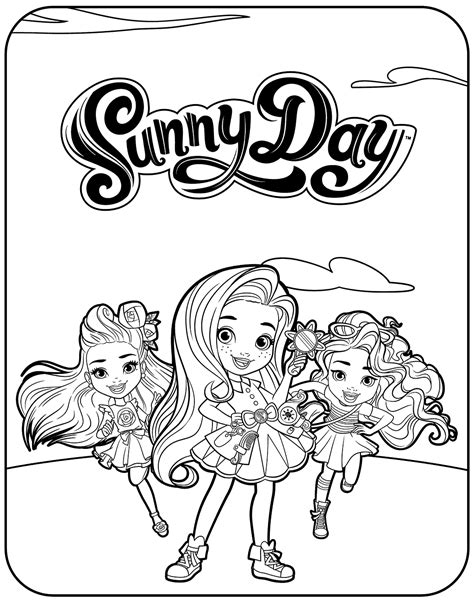 kleurplaat squirrel on a sunny day free printable sunny day coloring pages coloring page for kids