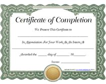 free printable internship certificates of achievment templates