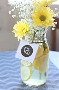 cheap centerpieces for baby shower gray yellow baby shower decorating ideas easy