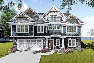House Plans For View Lots by Craftsman House Plan For A View Lot 890067ah