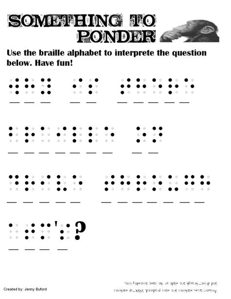 Braille Worksheets Printables by 28 Grade 2 Braille Worksheets Blank Braille Cell