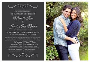 wedding invitation ideas utah announcements utah announcements eternity