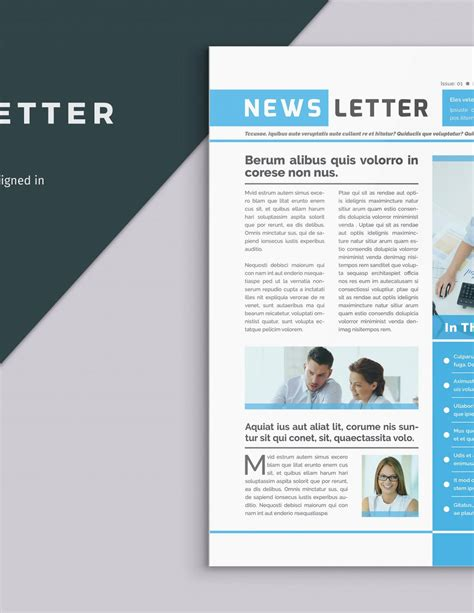 Newletter Template Snapwit Co One Page Newsletter Template Newsletter Template Powerpoint