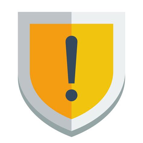 Small For by Shield Warning Icon Small Flat Iconset Paomedia