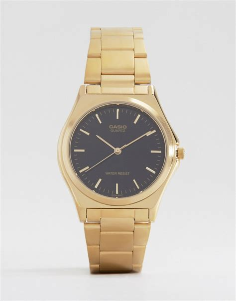 casio casio gold stainless steel mtp1130n 1a