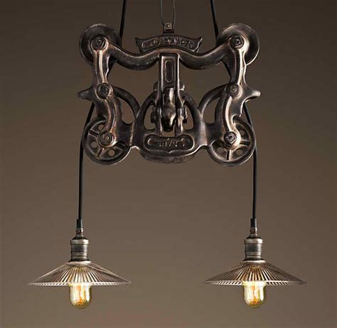light fixture hardware trolley pendant by restoration hardware lighting fixtures