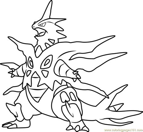 coloring pages of mega pokemon pokemon mega tyranitar coloring pages images pokemon images