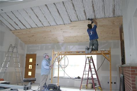 Unfinished Beadboard Paneling - house tweaking