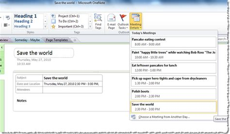 onenote page templates section template onenote page templates 2010