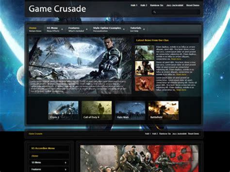 html game themes game crusade wordpress theme wordpress xbox theme