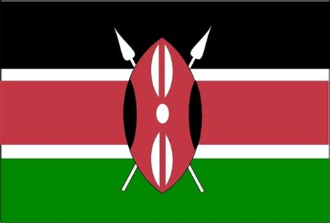 template of kenya flag kenya flag vector free vector for free about