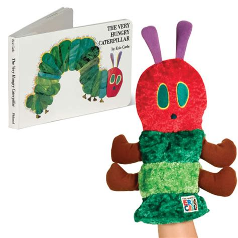 Floor Planer the very hungry caterpillar book amp puppet set
