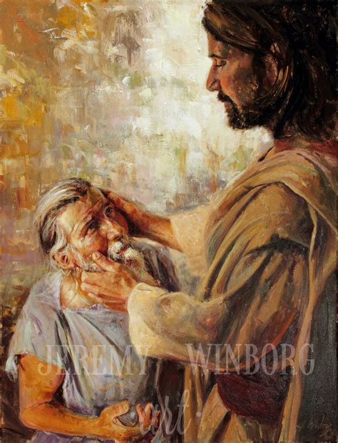 healing confessions through the principles of jesus christ principles of jesus christ christ heals the blind man at