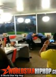 waffle house fight the terrifying moment a waitress rips out clumps of her co