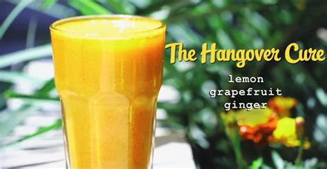 Hangover Detox Juice by The Hangover Cure Lola Berry