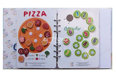 Mainan Edukasi Angka Belajar Menghitung Counting Board my busy book by elhana rumah bunda