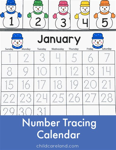 free printable january activity sheets free worksheets 187 number tracing preschool free math