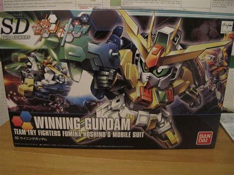 Bandai Sd Winning Gundam 1 sd winning gundam by bandai build