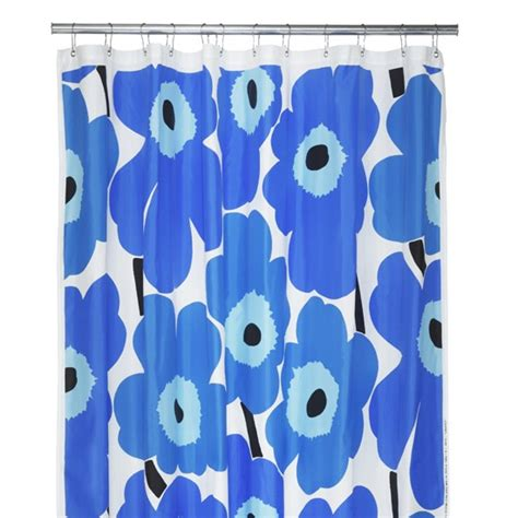 marimekko curtain marimekko unikko shower curtain from heal s bathroom