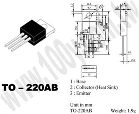 transistor h1061 datasheet transistor h1061 28 images tip112 bp mcc 3p to 220ab 無鉛 h1061 1246631 pdf