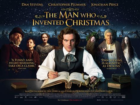current movies in theaters the man who invented christmas by dan stevens the man who invented christmas movie poster teaser trailer