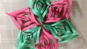 create a pretty construction paper christmas star diy