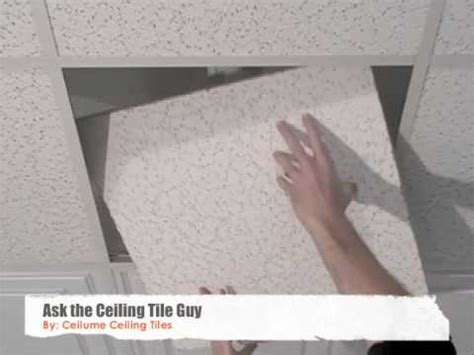 Removing Ceiling Tiles by Ceiling Tiles How To Replace