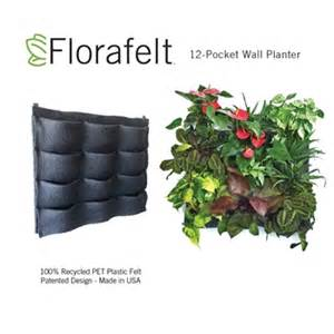 Florafelt Vertical Garden Florafelt 12 Pocket Vertical Garden Planter