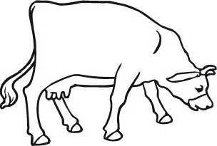 cow coloring pages free printable cow coloring pages for