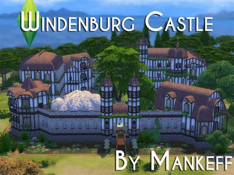 sims 4 medieval castle mankeff s windenburg castle