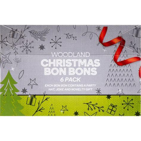 christmas bon bons woodland 6pk woolworths