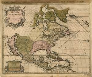 historical map of america 1694