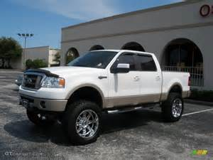 2007 Ford F150 King Ranch 2007 Oxford White Ford F150 King Ranch Supercrew 4x4