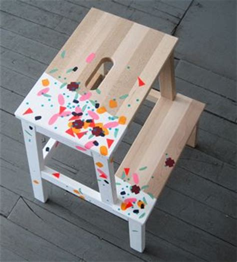 ikea hack colourful step stool with washi tape petit bout de chou 1000 images about favourite ikea hack on pinterest step