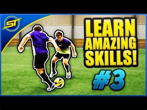 skilltwins football tutorial learn amazing football skill tutorial 3 quot turbo cut quot hd