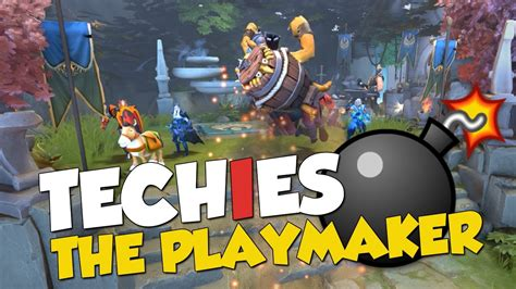 Dota 2 Arcana Giveaway - techies the playmaker dota 2 funny moments arcana