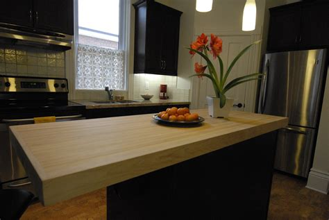 Bowling Countertop by Bowling Alley Wood Countertop Kitchen Idea