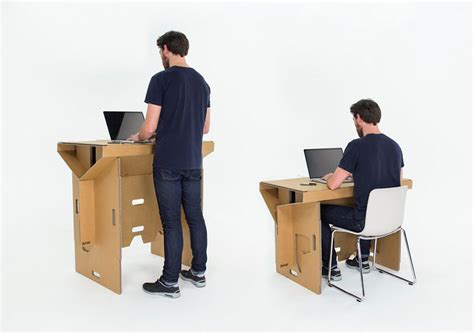 bureau assis debout mettez votre chaise de bureau au placard travailler
