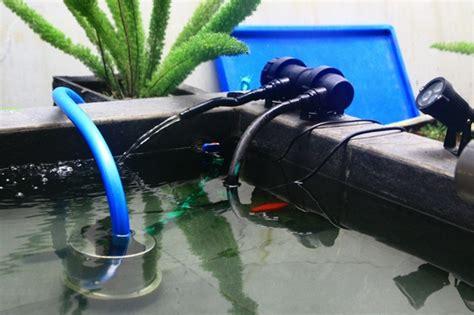 Lu Uv Untuk Kolam Ikan lu uv sekaligus dibuat untuk sirkulasi aliran air kolam
