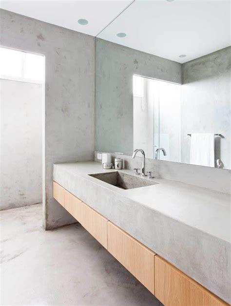 concrete countertops bathroom architecture page 189 of 927 contemporist