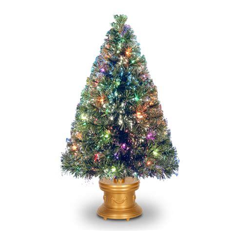 fiber optic tree fiber optic tree 48 quot fiber optic evergreen